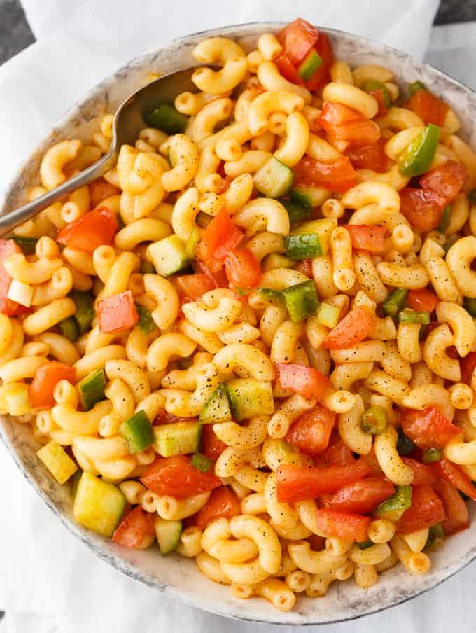 Can You Freeze Macaroni Salad  Macaroni Salad Simply Stacie