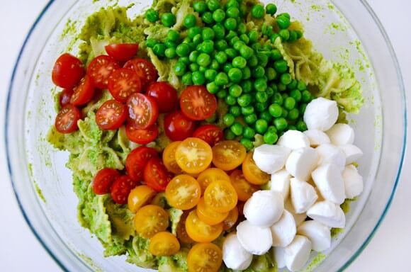 Can You Freeze Macaroni Salad  Pea Pesto Pasta Salad