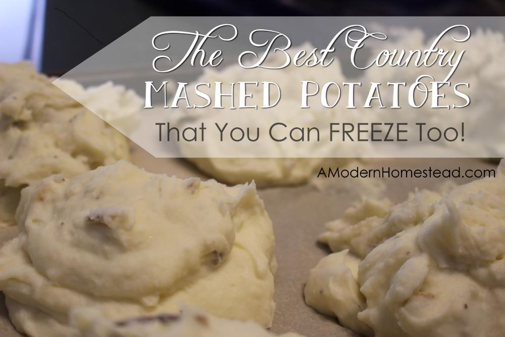 Can You Freeze Mashed Potatoes  Mashed Potatoes That You Can Freeze