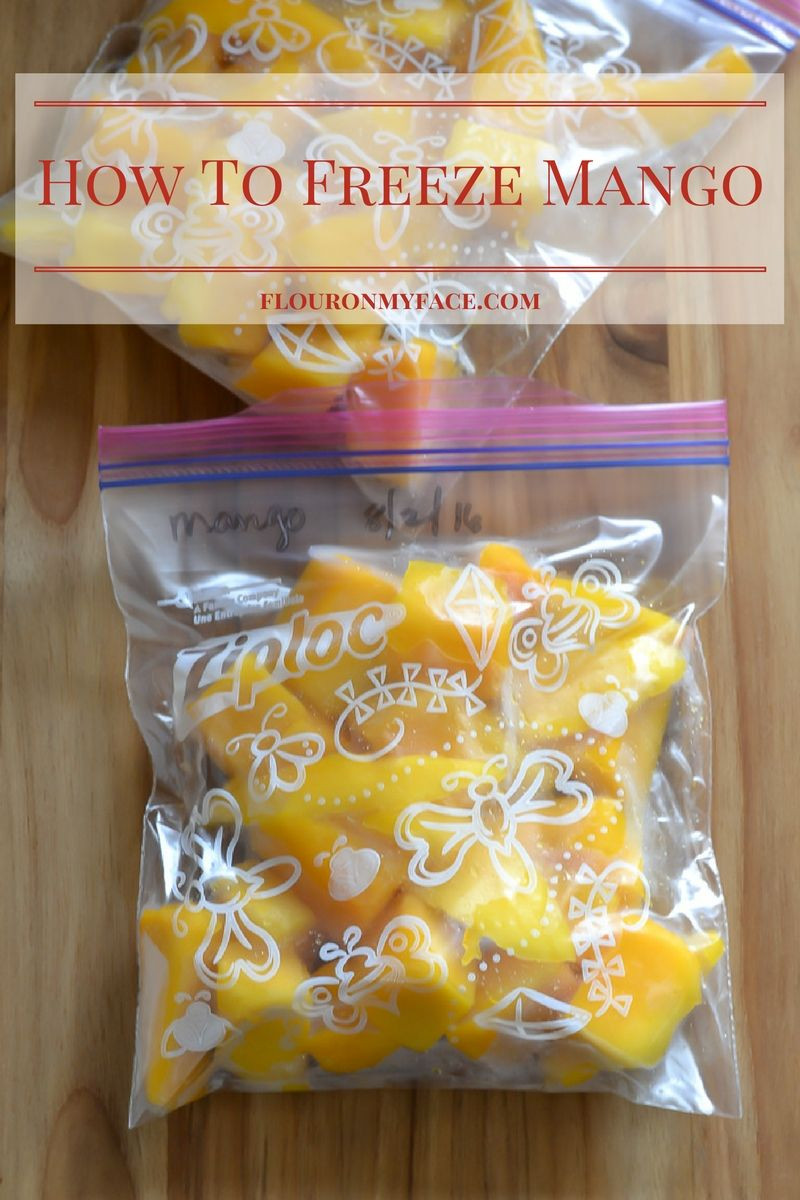 Can You Freeze Smoothies  How To Freeze Mango Flour My Face