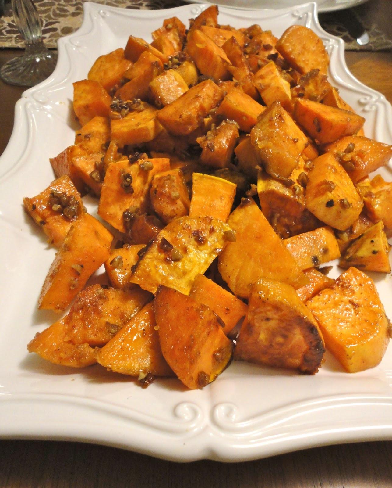 Candied Sweet Potato  Blissful Baking Can d Sweet Potatoes
