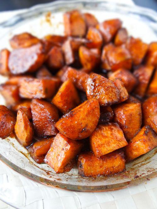 Candied Sweet Potato  cajun can d yams