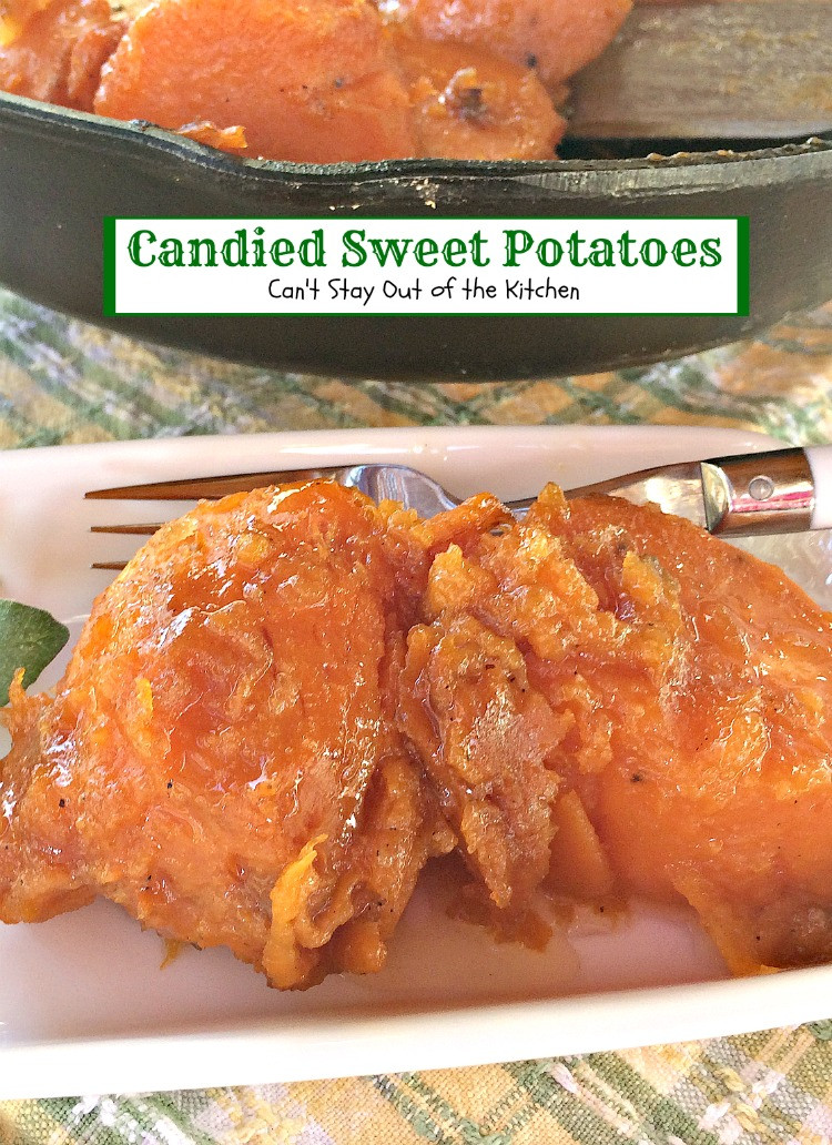Candied Sweet Potato  Can d Sweet Potatoes Can t Stay Out of the Kitchen