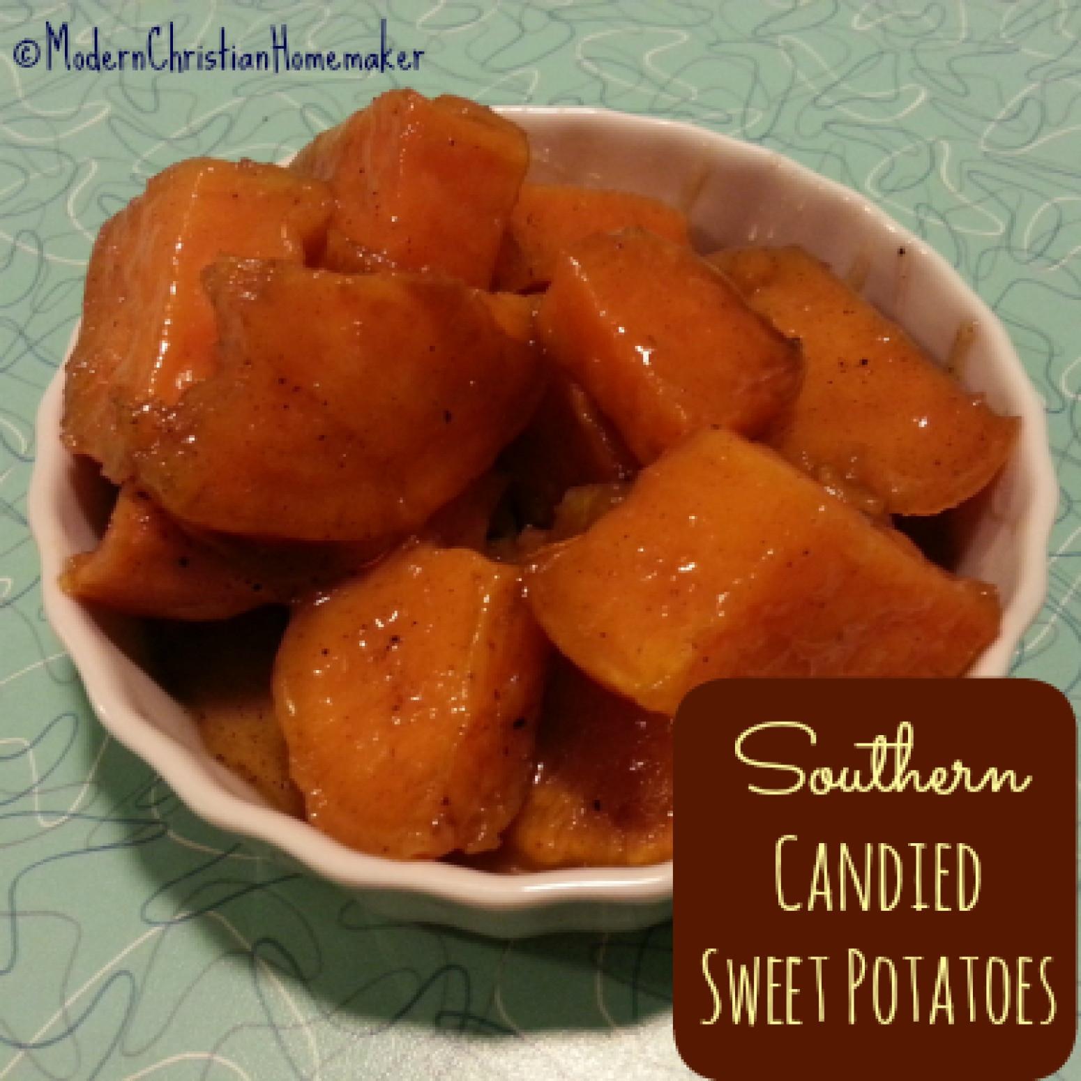 Candied Sweet Potato Recipe  Southern Can d Sweet Potatoes Recipe — Dishmaps