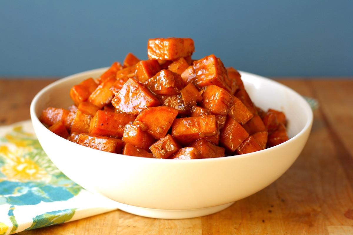 Candied Sweet Potato Recipe  Stove Top Can d Sweet Potatoes Recipe