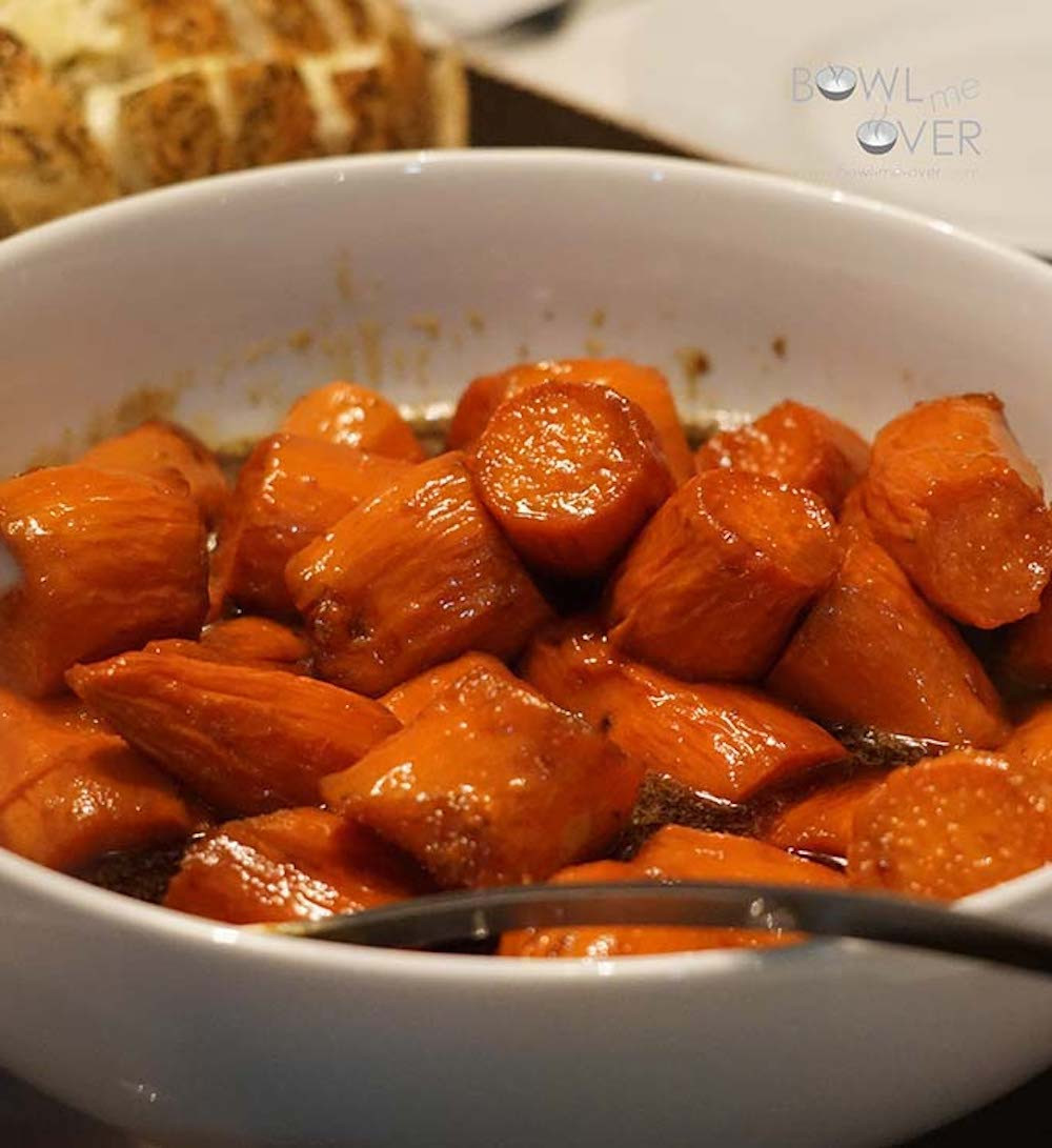 Candied Sweet Potato Recipe  Cook Local Can d Sweet Potatoes FresYes