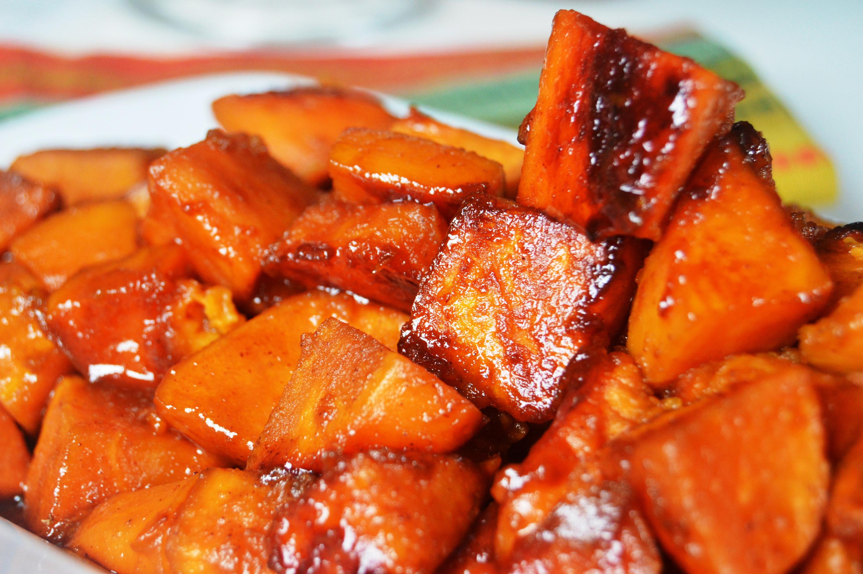 Candied Sweet Potato Recipe  Can d Yams