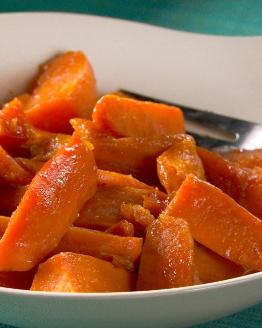 Candied Sweet Potato Recipe  Can d Sweet Potatoes Recipe