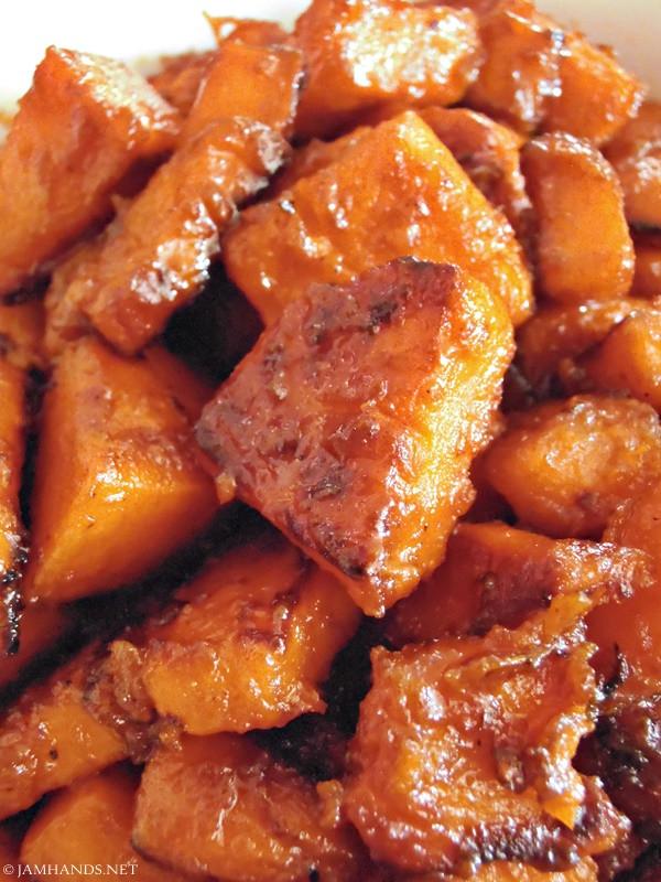Candied Sweet Potato Recipe  Jam Hands Skillet Can d Sweet Potatoes