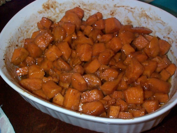 Candied Sweet Potato Recipes  Can d Baked Sweet Potatoes Oven Grill Recipe Food