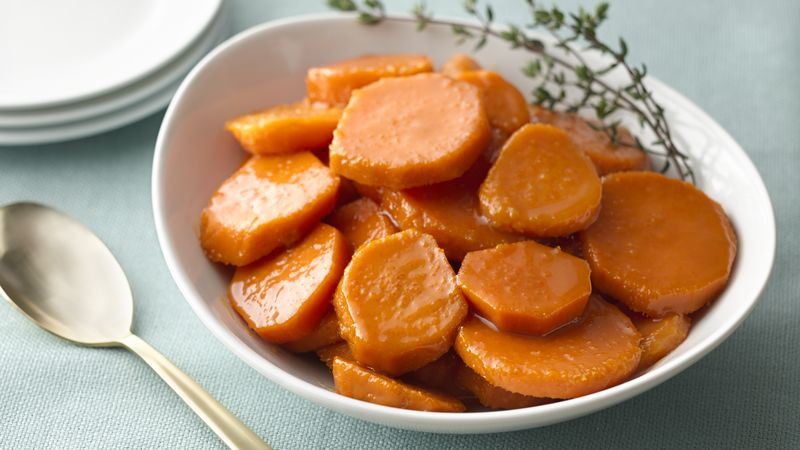 Candied Sweet Potato Recipes  Classic Can d Sweet Potatoes Recipe BettyCrocker