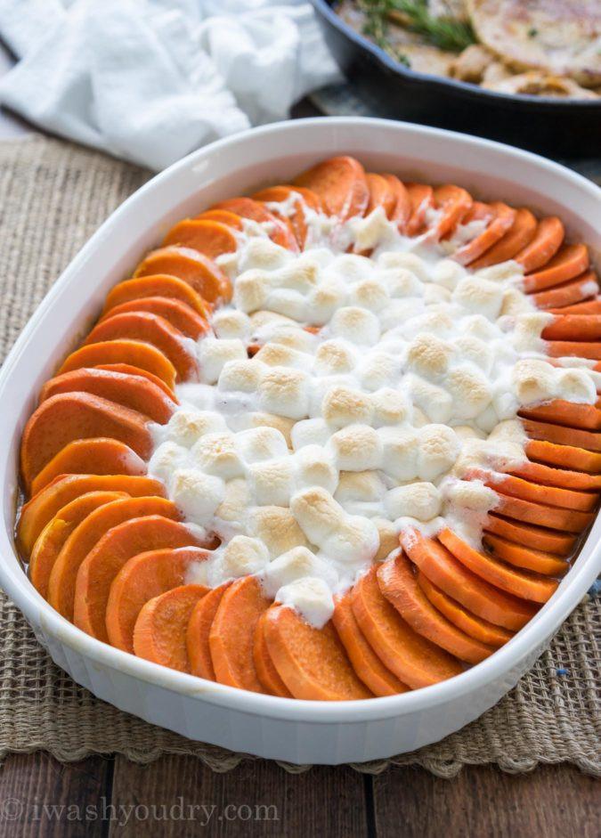 Candied Sweet Potato  can d sweet potato casserole