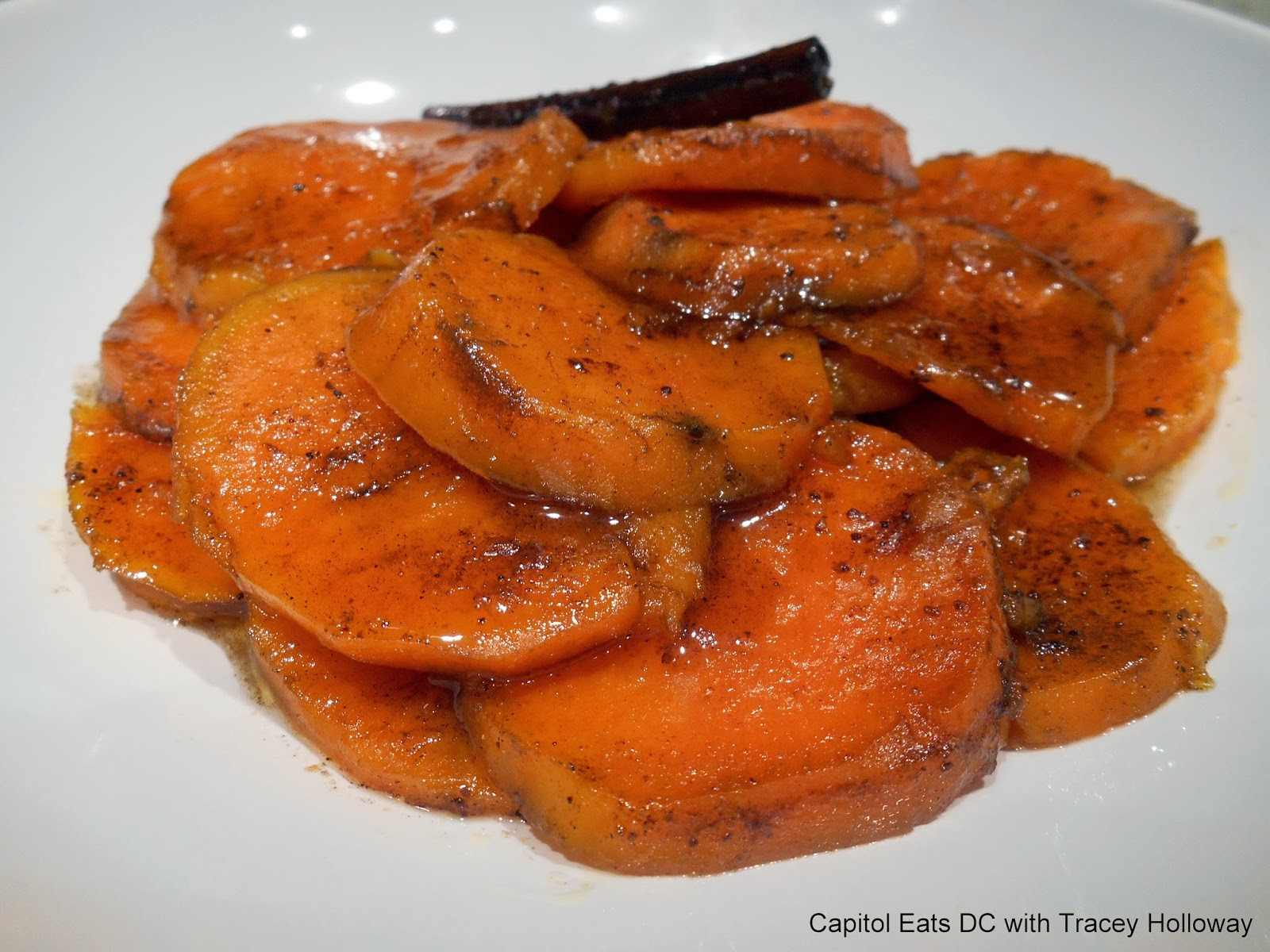 Candied Sweet Potato  Capitol Eats with Tracey Holloway Mom s Can d Sweet