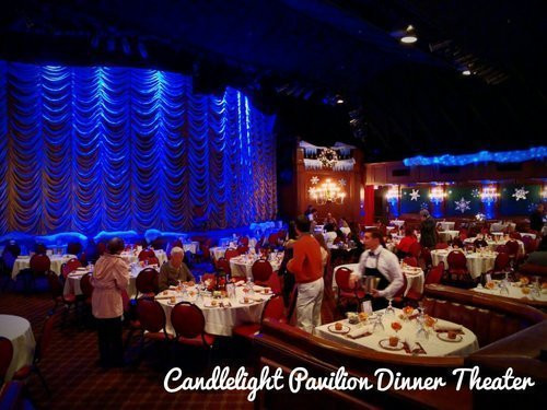 Candlelight Dinner Theatre  candle light theater