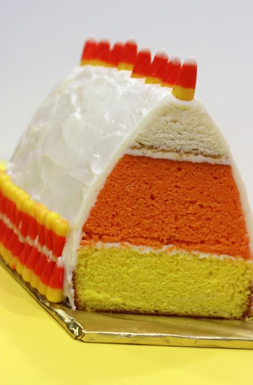 Candy Corn Cake  Candy Corn Cake