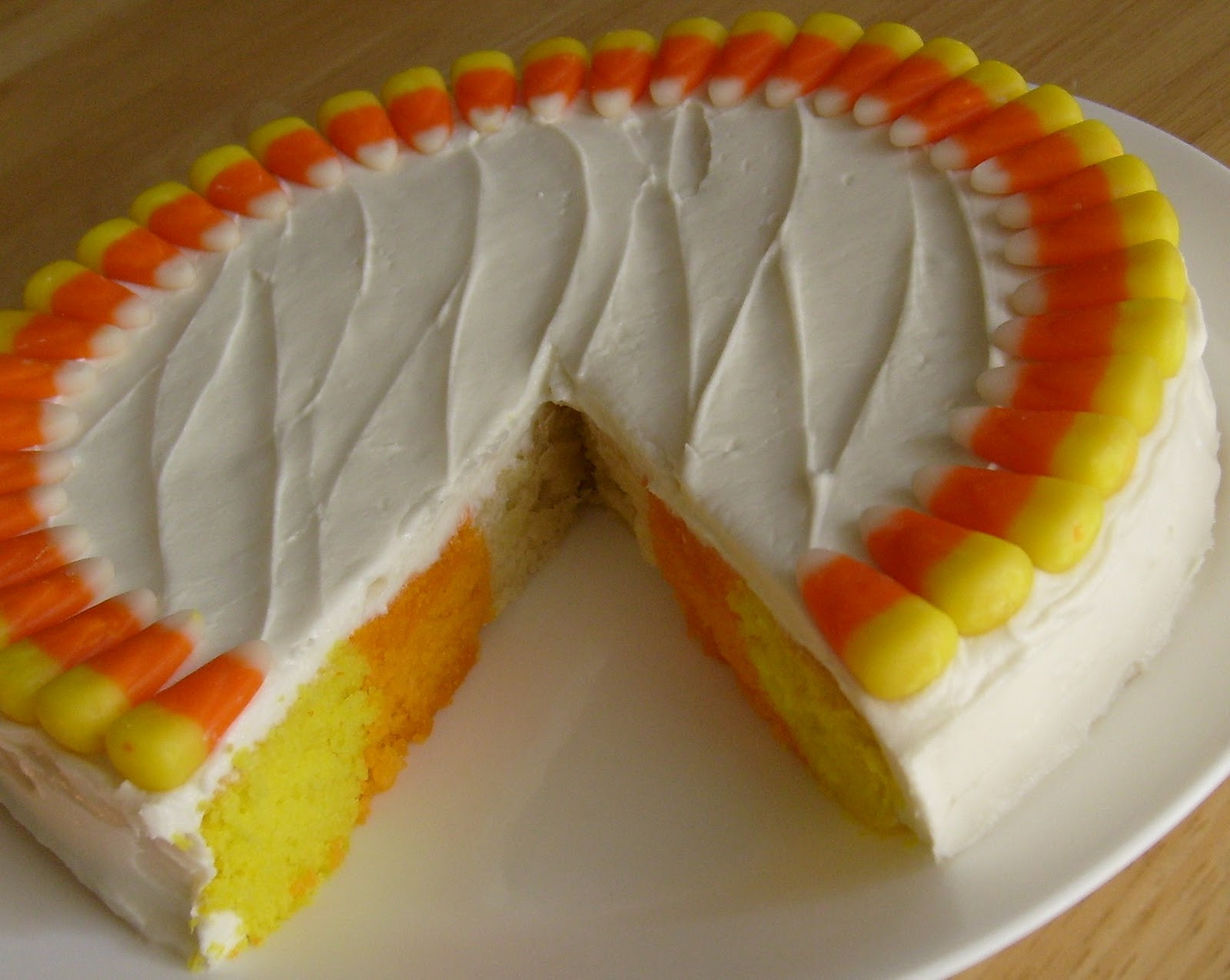 Candy Corn Cake  Happier Than A Pig In Mud Candy Corn Cake