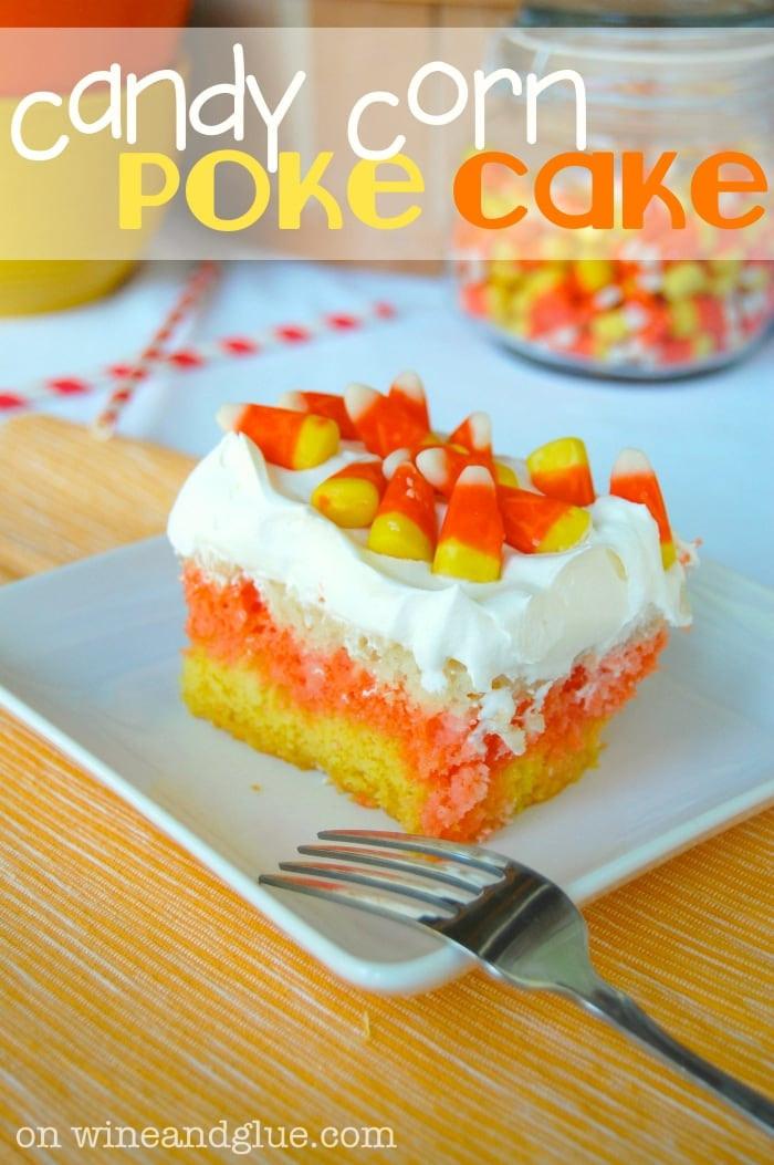 Candy Corn Ingredients  Candy Corn Poke Cake Wine & Glue