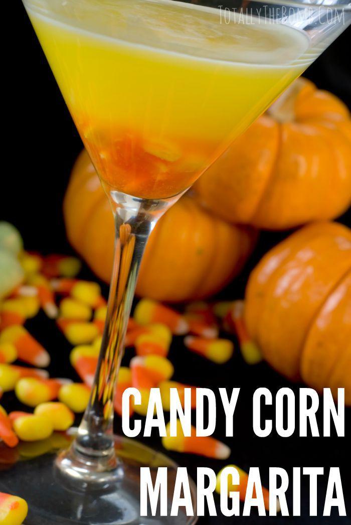 Candy Corn Ingredients  Candy Corn Apple Pucker Margarita Halloween Drink Recipe