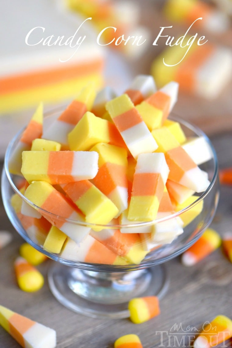 Candy Corn Ingredients  Easy Candy Corn Fudge Mom Timeout