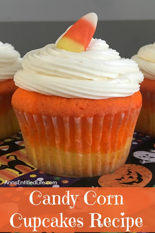 Candy Corn Ingredients  Candy Corn Cupcakes Recipe