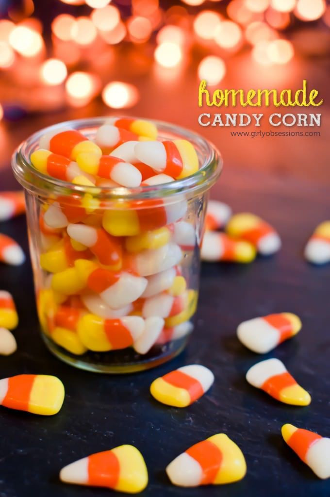 Candy Corn Ingredients  Homemade Candy Corn Recipe halloween ingre nts