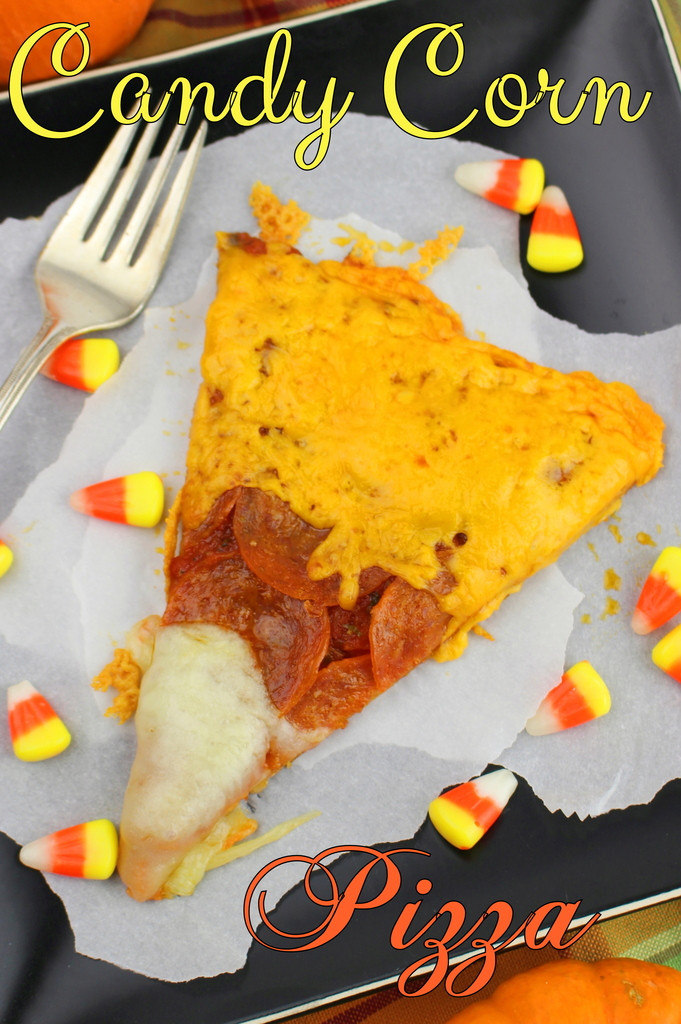 Candy Corn Pizza  Candy Corn Pizza