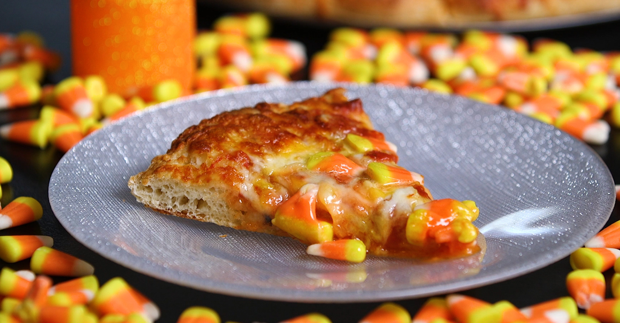 Candy Corn Pizza  If You Can t Get Enough of Pumpkin Spice This Fall This