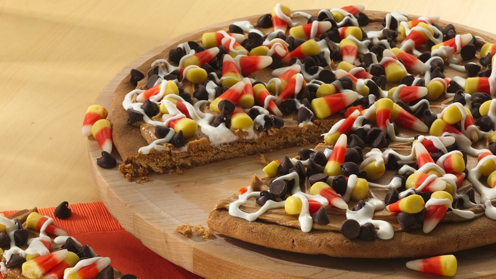 Candy Corn Pizza  Cuckoo for Candy Corn 33 Fun Recipes Crafts and More
