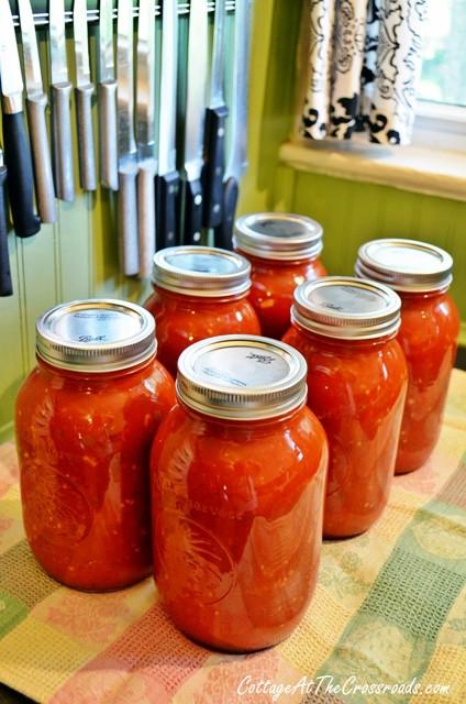 Canned Spaghetti Sauce  Homemade Canned Spaghetti Sauce