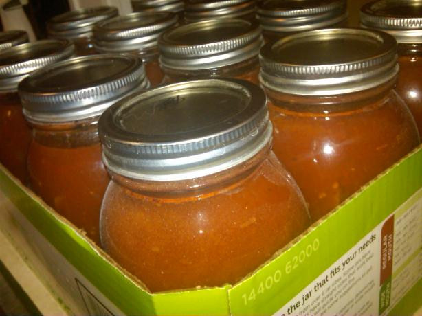 Canned Spaghetti Sauce  Canned Fresh Tomato Spaghetti Sauce Recipe Food
