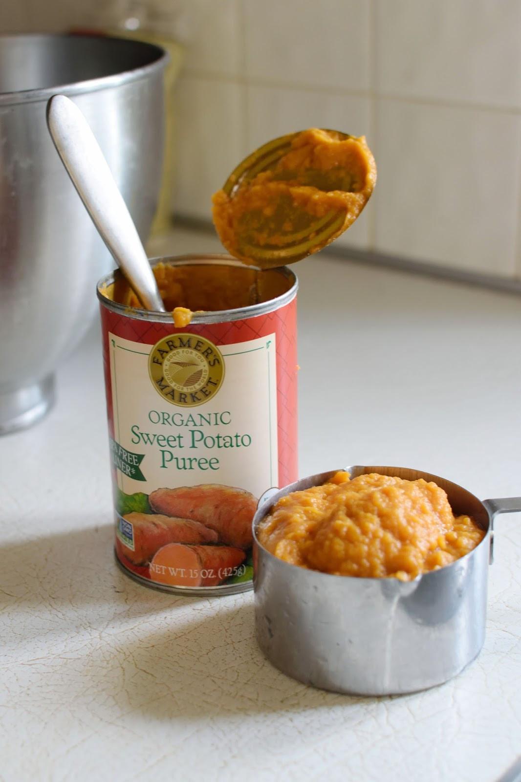 Canned Sweet Potato  Ashley s Green Life Gluten Free Vegan Sweet Potato Biscuits