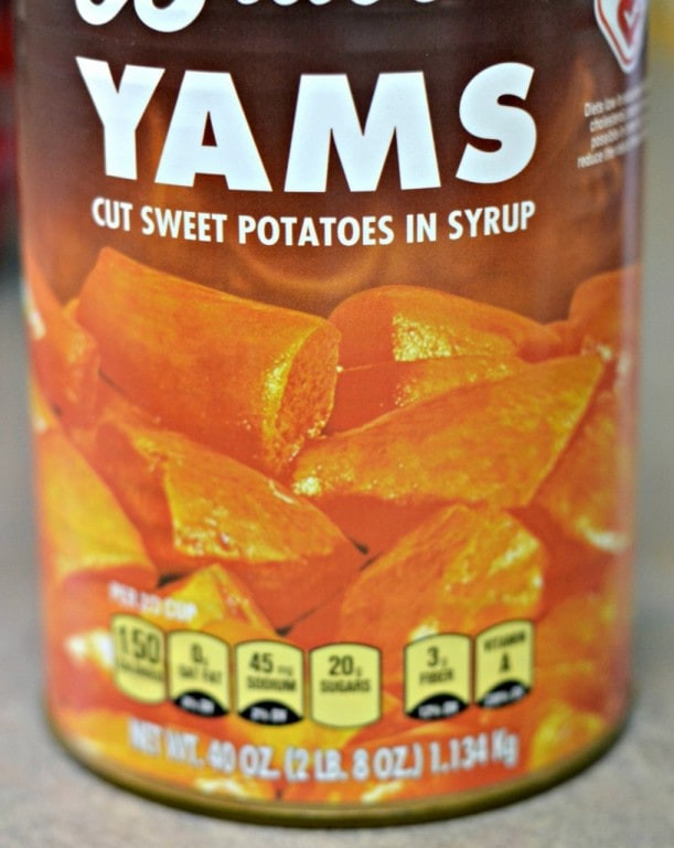 Canned Sweet Potato  Sweet Potato Casserole