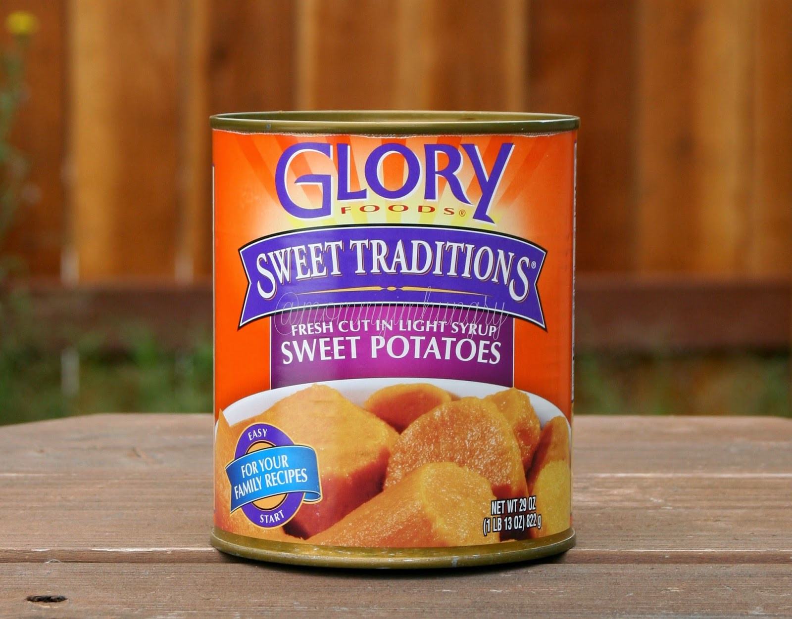 Canned Sweet Potato  MIH Product Reviews & Giveaways Cans Get You Cooking