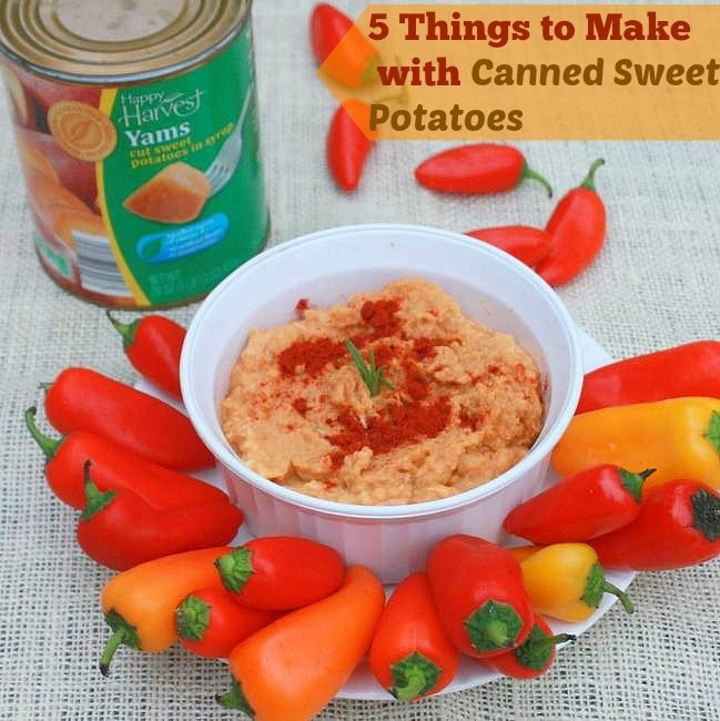 Canned Sweet Potato  5 Things To Make with Canned Sweet Potatoes