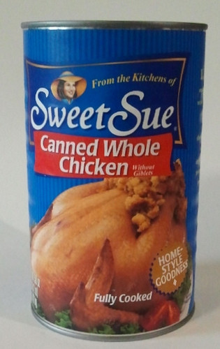 Canned Whole Chicken  Dave s Cupboard Sweet Sue Canned Whole Chicken