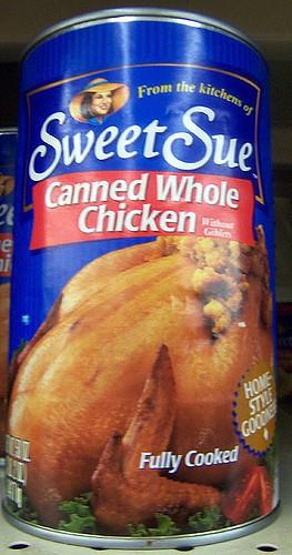 Canned Whole Chicken  Canned Whole Chicken