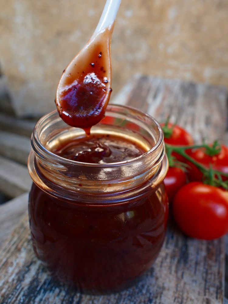 Canning Bbq Sauce  Homemade BBQ Sauce Canning Tips Emily Ellyn
