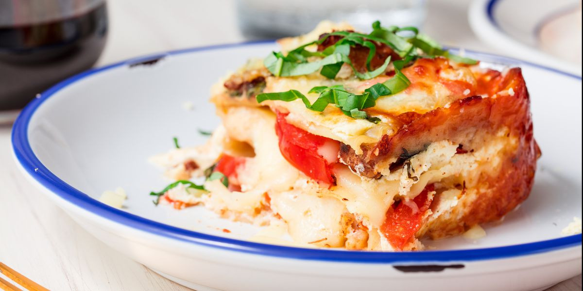 Caprese Chicken Lasagna  Best Caprese Chicken Lasagna Recipe How to Make Caprese
