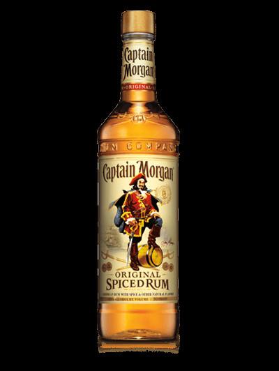 Captain Morgan Spiced Rum Drinks  Captain Morgan Rum 1 75L Handle $26 for three at Costco
