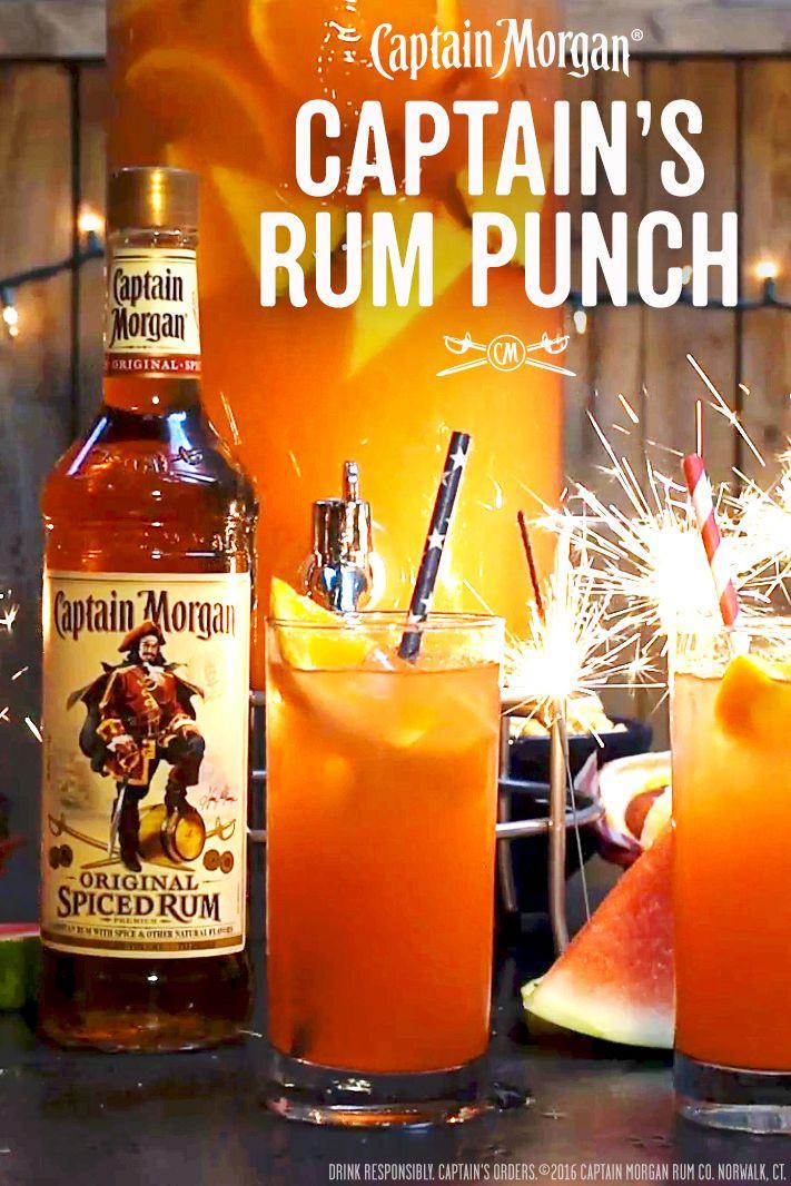 Captain Morgan Spiced Rum Drinks  Best 25 Spiced rum drinks ideas on Pinterest