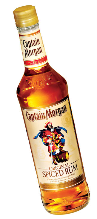 Captain Morgan Spiced Rum Drinks  Summer Spirits Cottages & Gardens May 2011