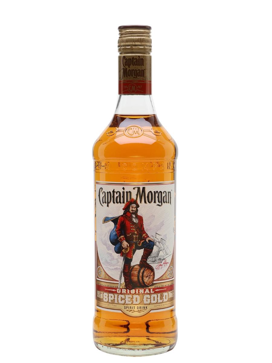 Captain Morgan Spiced Rum Drinks  Captain Morgan Spiced Gold Rum Spirit Drink The Whisky