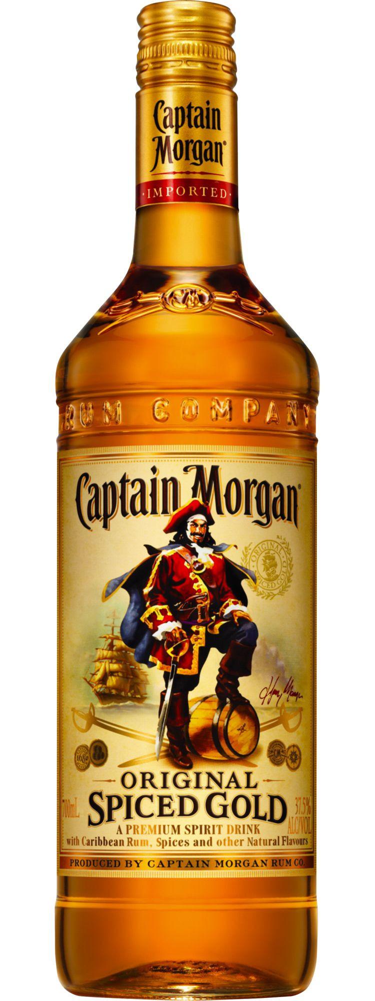 Captain Morgan Spiced Rum Drinks  Captain Morgan my favorite