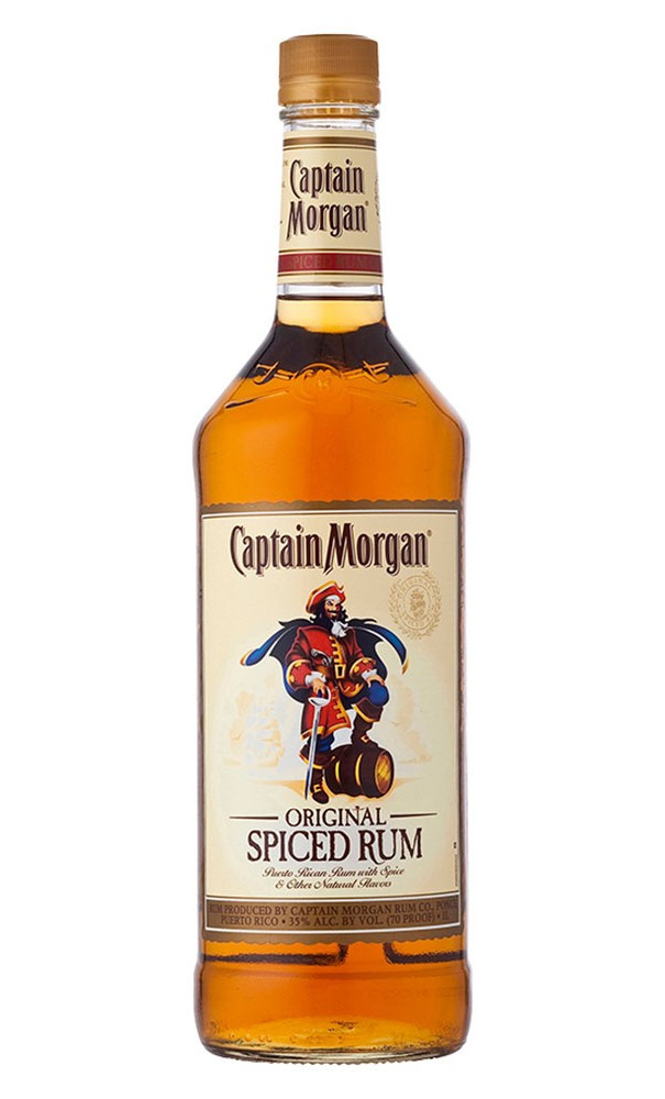Captain Morgan Spiced Rum Drinks  Bespoke's Gift Guide The Alcohol Edition