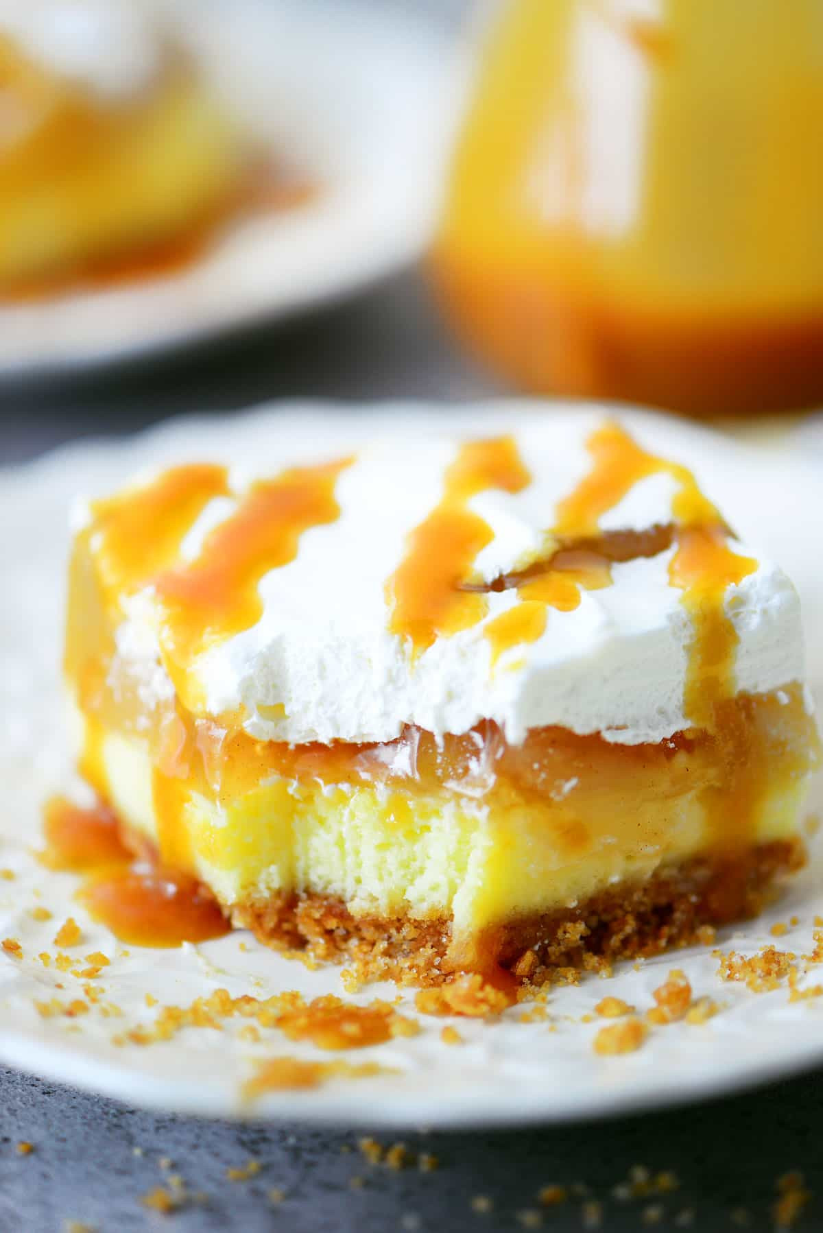 Caramel Apple Dessert  Caramel Apple Cheesecake Dessert Recipe
