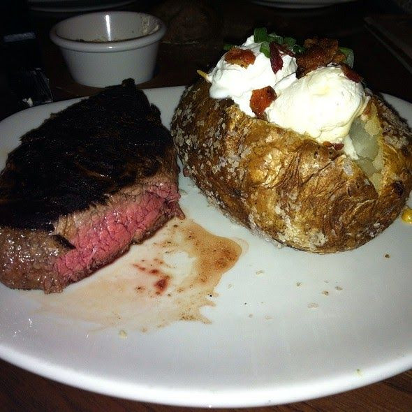 Carbs In A Baked Potato  Dressed Baked Potato with Sour Cream from Outback
