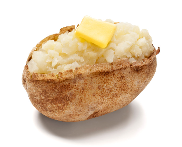 Carbs In A Baked Potato  EatingWell Tip Cut your starchy carb servings in half