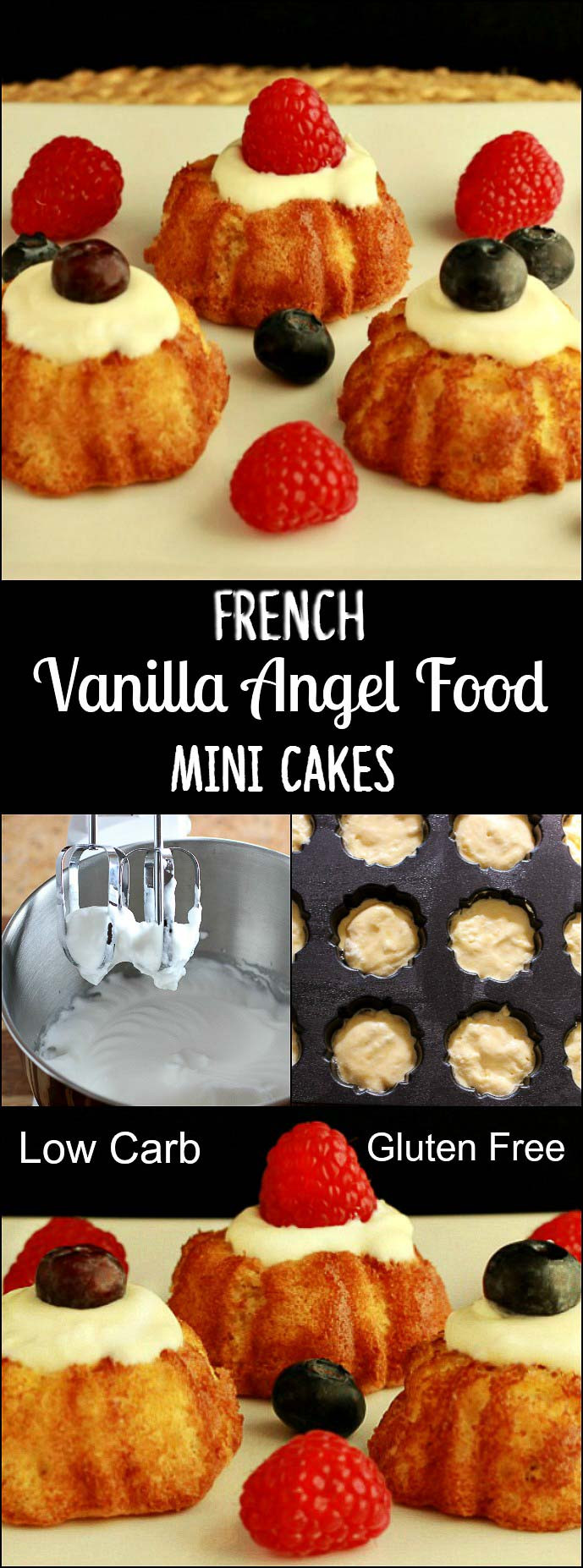 Carbs In Angel Food Cake  French Vanilla Angel Food Cake grain free