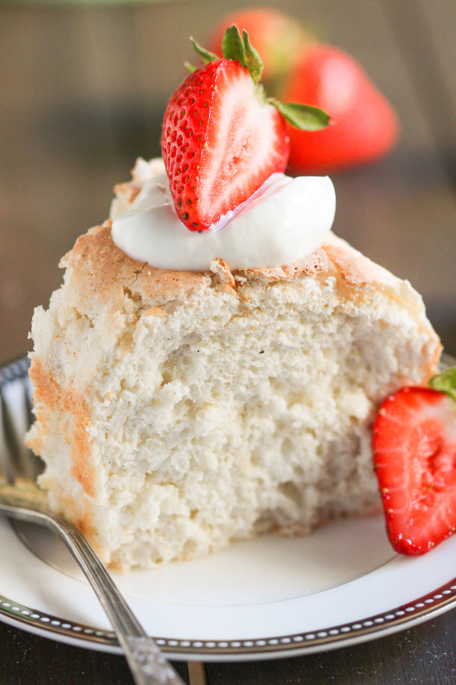 Carbs In Angel Food Cake  Healthy Angel Food Cake Recipe