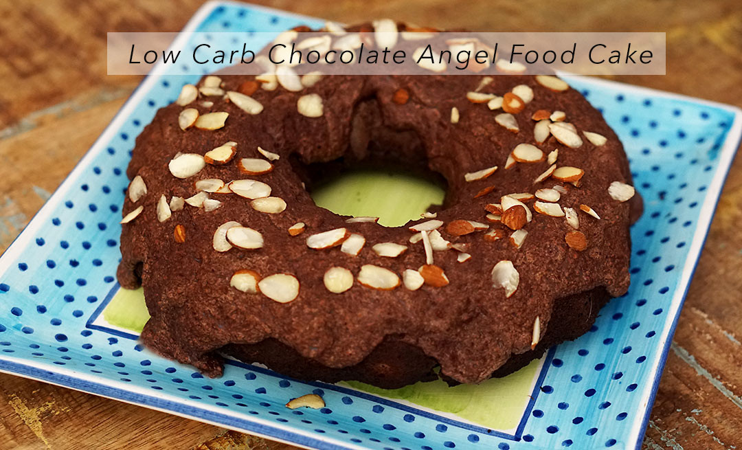 Carbs In Angel Food Cake  Low Carb Chocolate Angel Food Cake FM